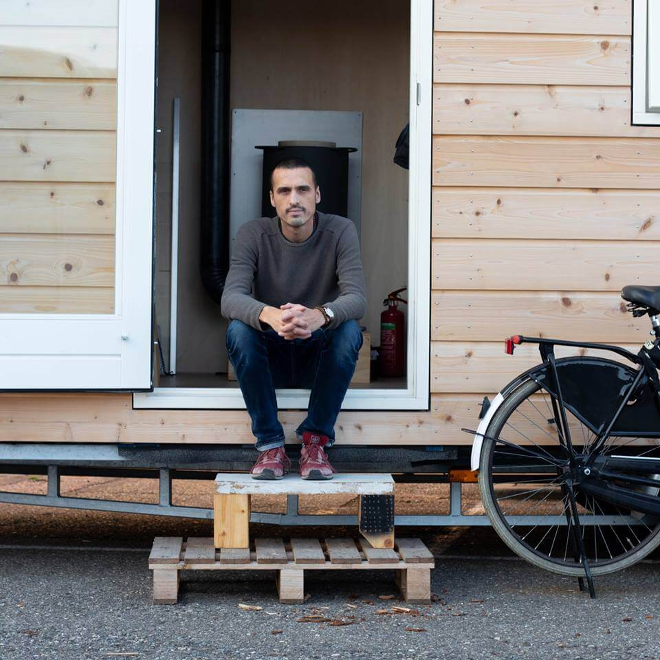 Q&A met #KROONjuweel Martijn Gorree. Je weet wel. 'Die ene jongen met zijn Tiny House'.