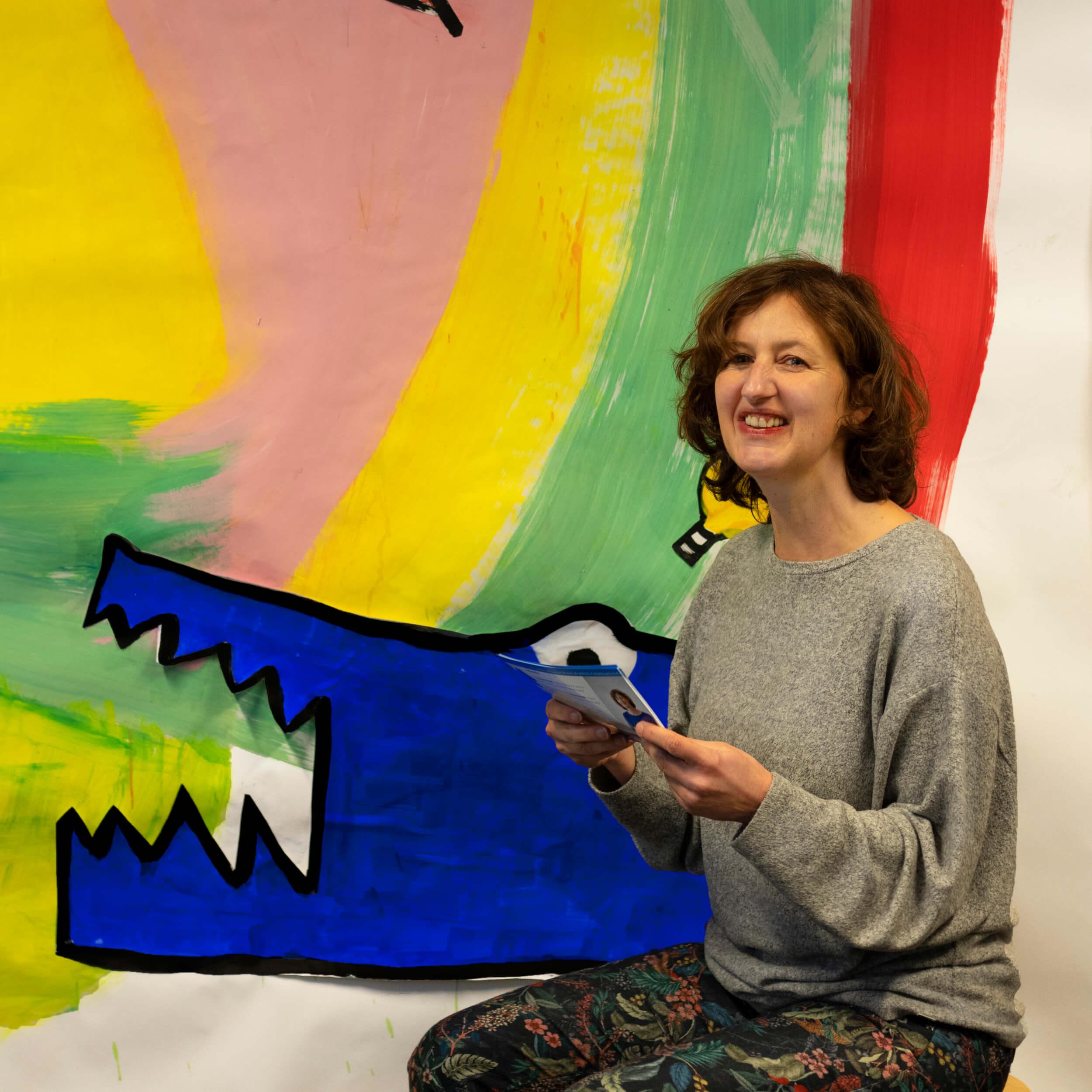 Q&A met Louise van der Voort: 'De Blauwe Krokodil is een sociale onderneming gerund door mensen die willen werken met een heel specifiek talent waardoor wij dagelijks werken aan meer inclusievere samenleving.'