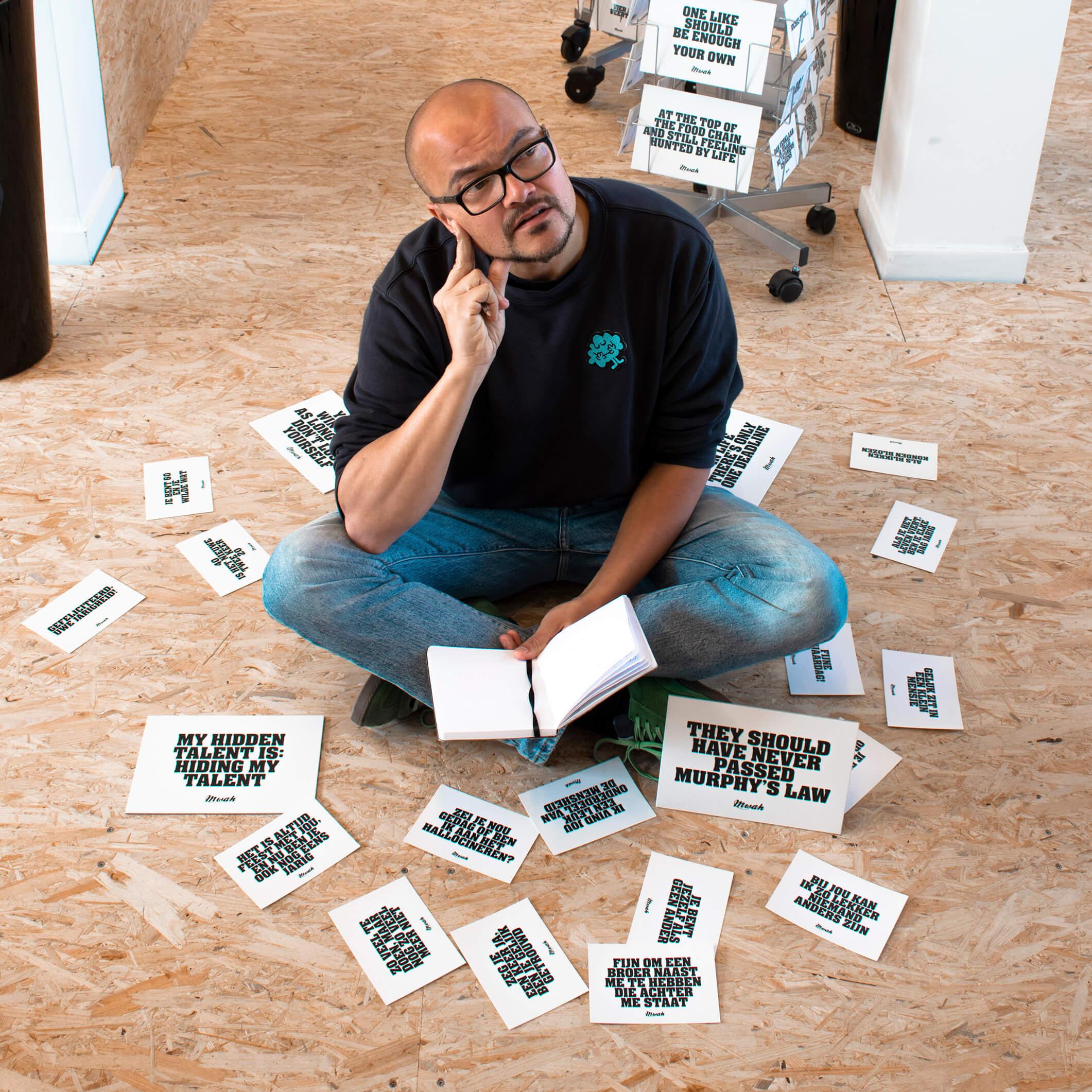 Q&A met Erwin Pols van Mwah Tekstuele Verwenners: 'Ons kantoor is een doos vol emoties'