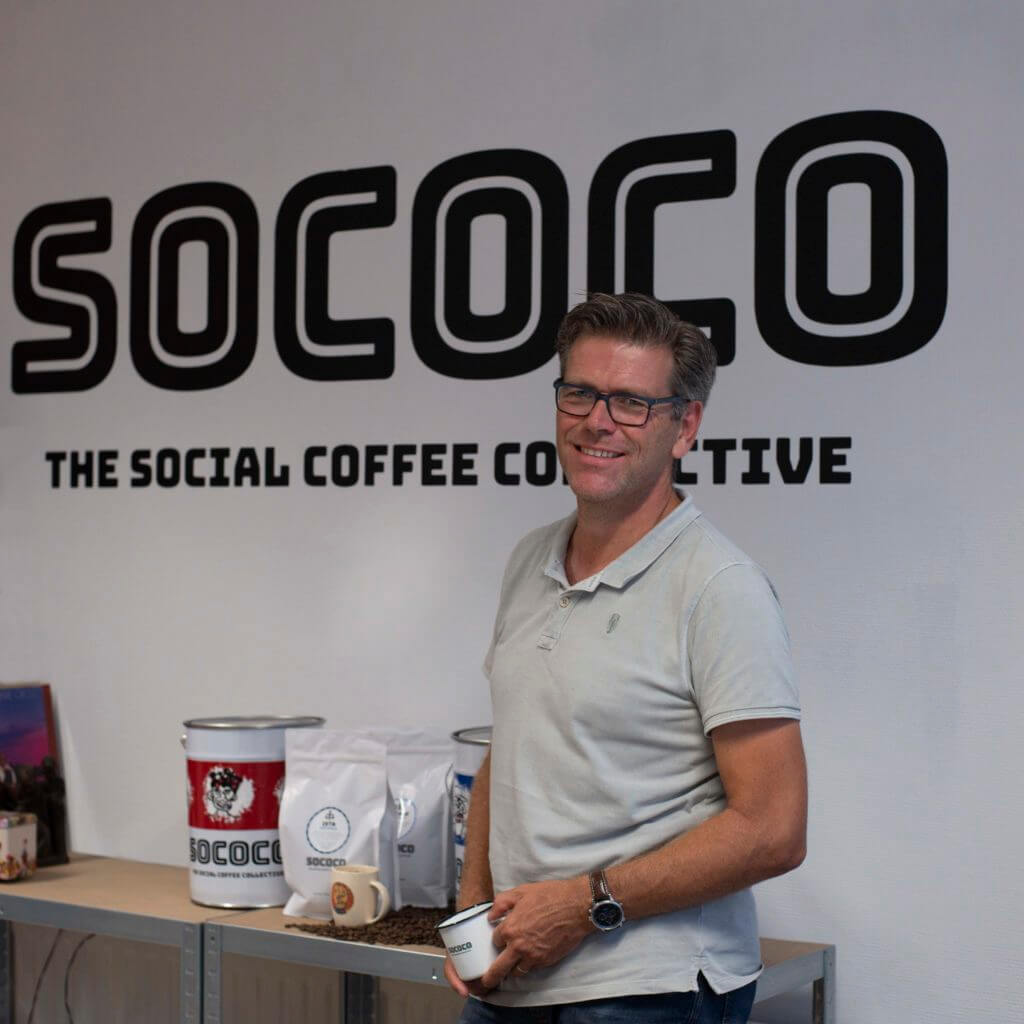 Q&A met Perry van Gils: 'Binnen Sococo werken wij niet met mensen met een afstand tot de arbeidsmarkt, maar met mensen die een extra steuntje in de rug nodig hebben om hun talent en creativiteit te ontdekken.'