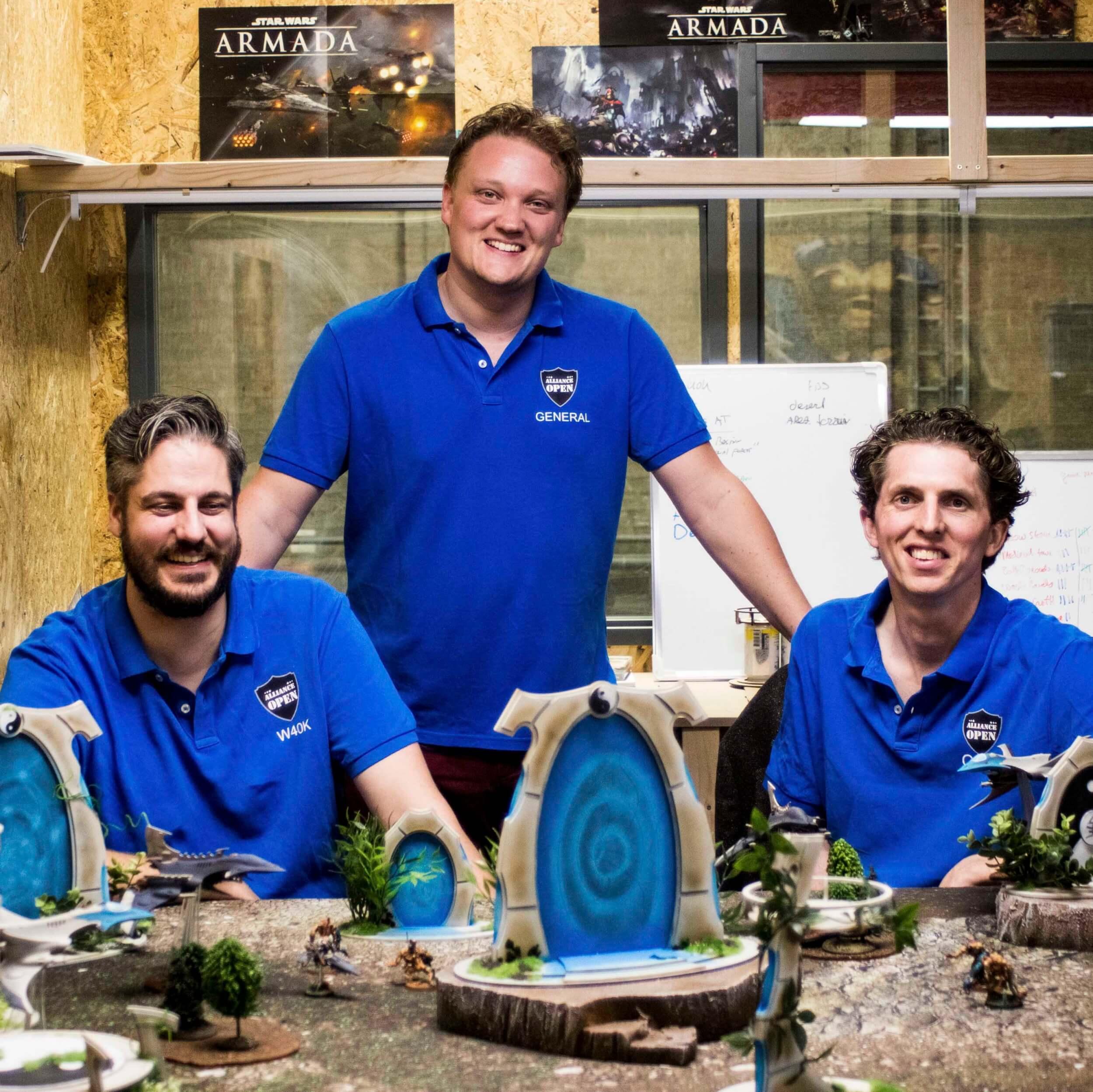 """Q&A met Martijn Meijer, Cees Jan Stam en Dennie Nuijten van TableTop Alliance: """"Van een uit de hand gelopen hobby naar een van de snelst groeiende Tabletop Wargaming evenement organisaties in Europa."""""""